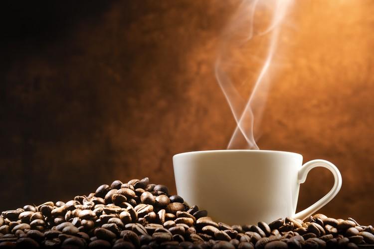 Café avec grains