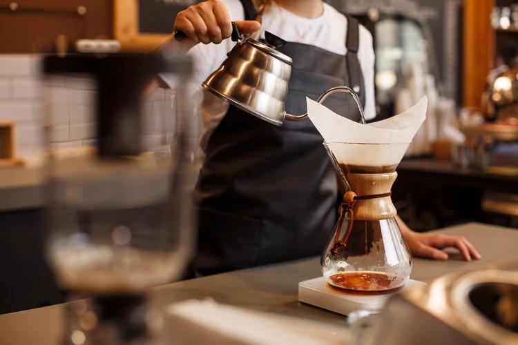 Cafetière à filtre manuelle