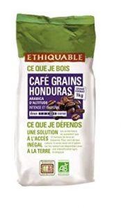 Ethiquable café en grains bio