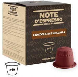 Note d'Espresso - capsules chocolat noisette