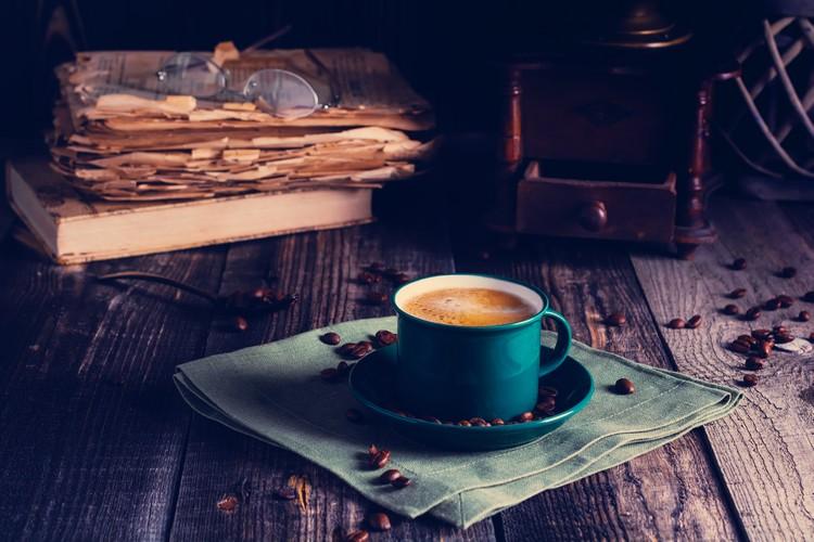 Tasse de café décaféiné